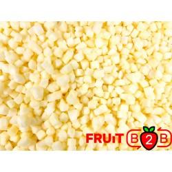 Apple Dices 10 x 10 Idared dices - IQF Frozen Fruit - FRUIT B2B