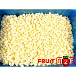 蘋果 Dices 10 x 10 Idared dices - IQF 冷凍水果 - FRUIT B2B
