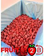 Frambuesa 95/5 Whole - IQF Fruta congelada - FRUIT B2B