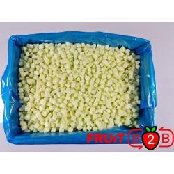 Pomme Dices 13 x 13 Ligol dices  - IQF Fruits surgelés - FRUIT B2B