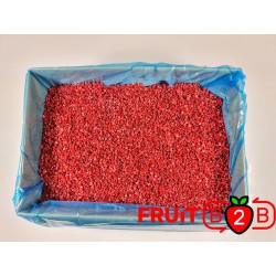 ラズベリー Crumble  - IQF 冷凍フルーツ - FRUIT B2B