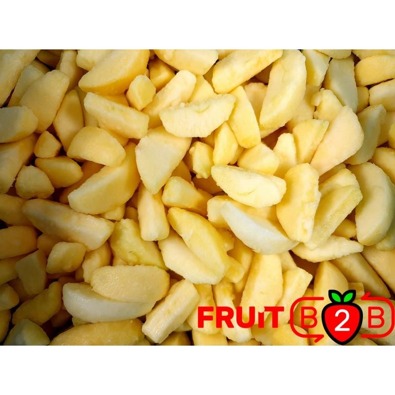 maçã Segment Golden 1/8 - IQF Fruta congelada - FRUIT B2B