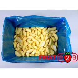 manzana Segment Golden 1/8 - IQF Fruta congelada - FRUIT B2B