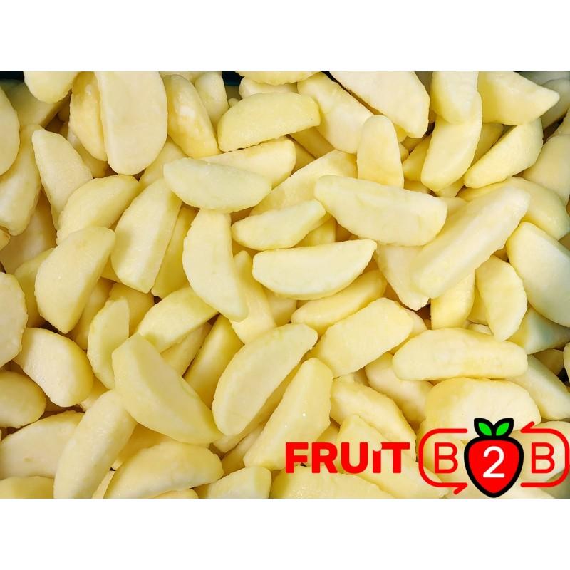 Apple Segment Jonagored 1/8 - IQF Frozen Fruit - FRUIT B2B