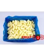 Maçã Segment Jonagored 1/8 - IQF Fruta congelada - FRUIT B2B