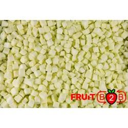 maçã Dices 13 x 13 Ligol dices - IQF Fruta congelada - FRUIT B2B