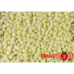 manzana Dices 13 x 13 Ligol dices - IQF Fruta congelada - FRUIT B2B