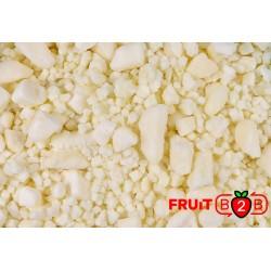Manzana - Irregular Dices And Bits - IQF Fruta congelada - FRUIT B2B
