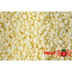 яблоко Dices 10 x 10 Golden dices - IQF Замороженные фрукты - FRUIT B2B