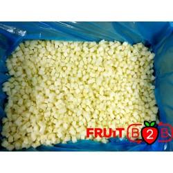 maçã Dices 10 x 10 Pear Dices - IQF Fruta congelada - FRUIT B2B