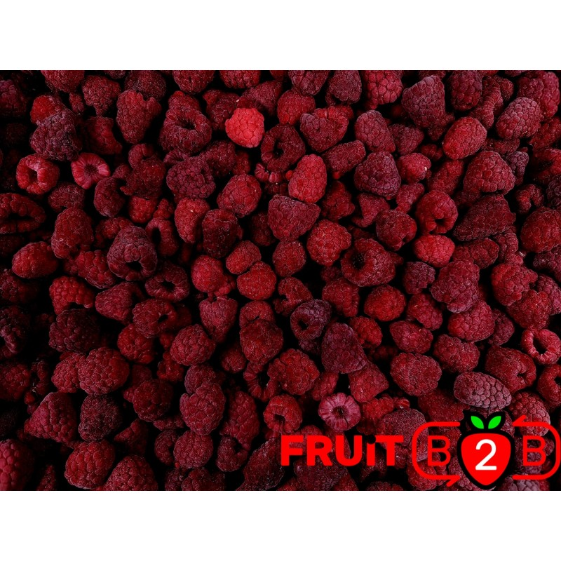 Framboise Whole - Glen  - IQF Fruits surgelés - FRUIT B2B