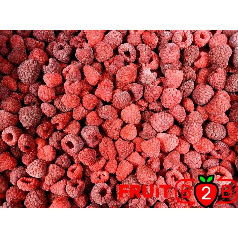 Himbeere 90/10 Whole - IQF Gefrorene Früchte - FRUIT B2B
