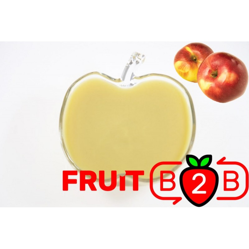 Apfel Fruchtpüree - Ligol - Aseptisch verpackte Fruchtpüree & Großhandel & Händler & Hersteller & Dienstleister - Fruit B2B