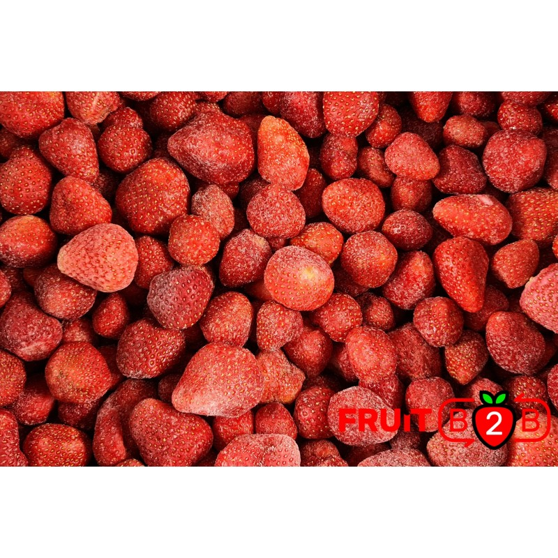 Erdbeere class 2 not-calibrated - IQF Gefrorene Früchte - FRUIT B2B