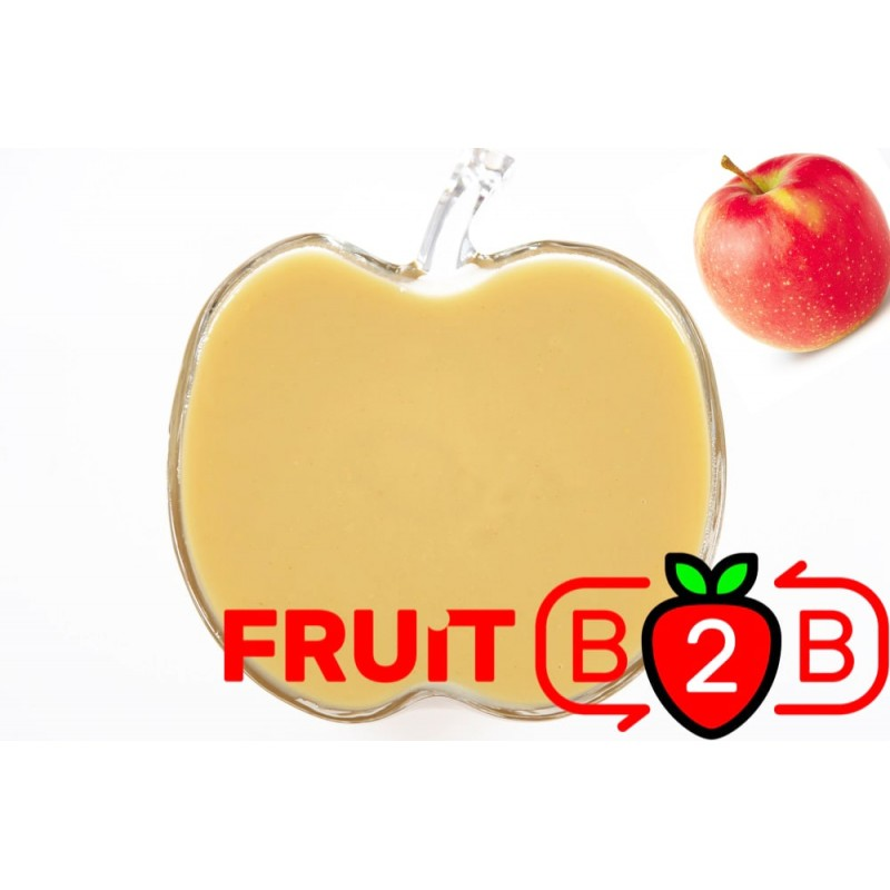 Apple Puree - Jonagoret - Aseptic Puree Fruit & Manufacturer & Supplier - Fruit B2B