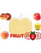 Purée de pommes Mix - Purée Aseptique Fruits & Purées de fruits et de légumes pour l'industrie agro-alimentaire - Fruit B2B