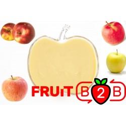 苹果 果泥 Mix - 果泥果粒 & 烘焙原料批发  果果粒水果泥 & 德鲁颗粒果酱烘焙饮品水果泥果粒原料批发 - Fruit B2B