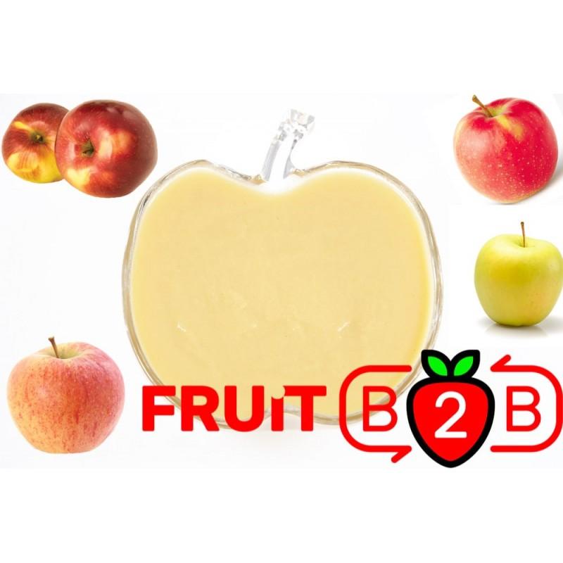 Elma Püresi MIX - Aseptik Meyve Püresi & Püre & Fabrikatör & Aseptic Meyve Varil Püre - Fruit B2B Meyve Suyu ve Gıda San