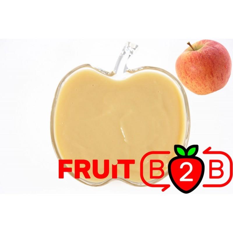 苹果 果泥 - Champion - 果泥果粒 & 烘焙原料批发  果果粒水果泥 & 德鲁颗粒果酱烘焙饮品水果泥果粒原料批发 - Fruit B2B