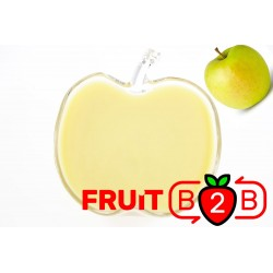 Apfel Fruchtpüree - Golden - Aseptisch verpackte Fruchtpüree & Großhandel & Händler & Hersteller & Dienstleister - Fruit B2B