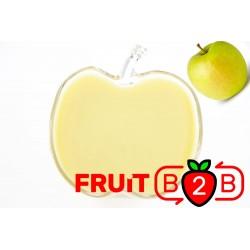Elma Püresi- Golden - Aseptik Meyve Püresi & Püre & Fabrikatör & Aseptic Meyve Varil Püre - Fruit B2B Meyve Suyu ve Gıda San