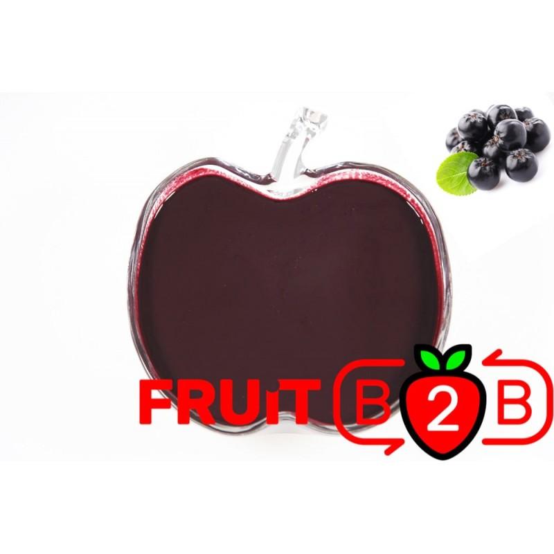 阿罗尼亚 果泥 - 果泥果粒 & 烘焙原料批发  果果粒水果泥 & 德鲁颗粒果酱烘焙饮品水果泥果粒原料批发 - Fruit B2B