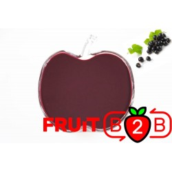 黑加侖 果泥 - 果泥果粒 & 烘焙原料批发  果果粒水果泥 & 德鲁颗粒果酱烘焙饮品水果泥果粒原料批发 - Fruit B2B