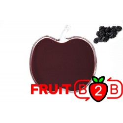 黑莓 果泥 - 果泥果粒 & 烘焙原料批发  果果粒水果泥 & 德鲁颗粒果酱烘焙饮品水果泥果粒原料批发 - Fruit B2B