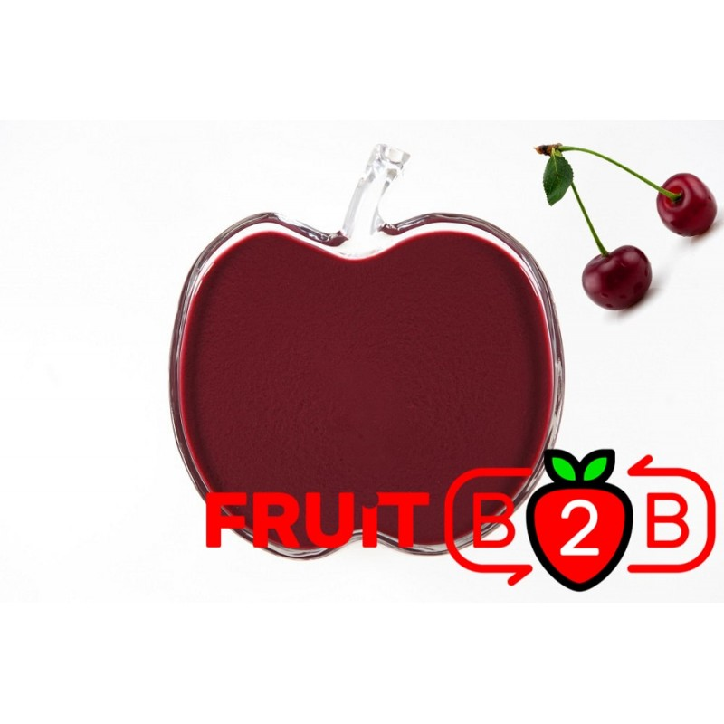 Puré de Cereja Azeda - Aséptico Purés de Fruta & Purê & Fabricante &  Proveedores de fruta y purés de frutas - Fruit B2B