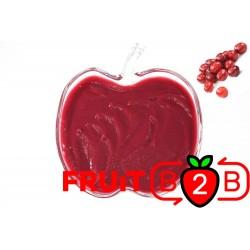 Kranichbeere Fruchtpüree - Aseptisch verpackte Fruchtpüree & Großhandel & Händler & Hersteller & Dienstleister - Fruit B2B