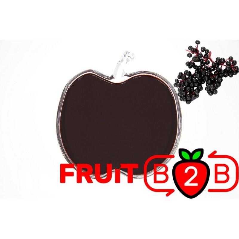 Mürver Püresi - Aseptik Meyve Püresi & Püre & Fabrikatör & Aseptic Meyve Varil Püre - Fruit B2B Meyve Suyu ve Gıda San