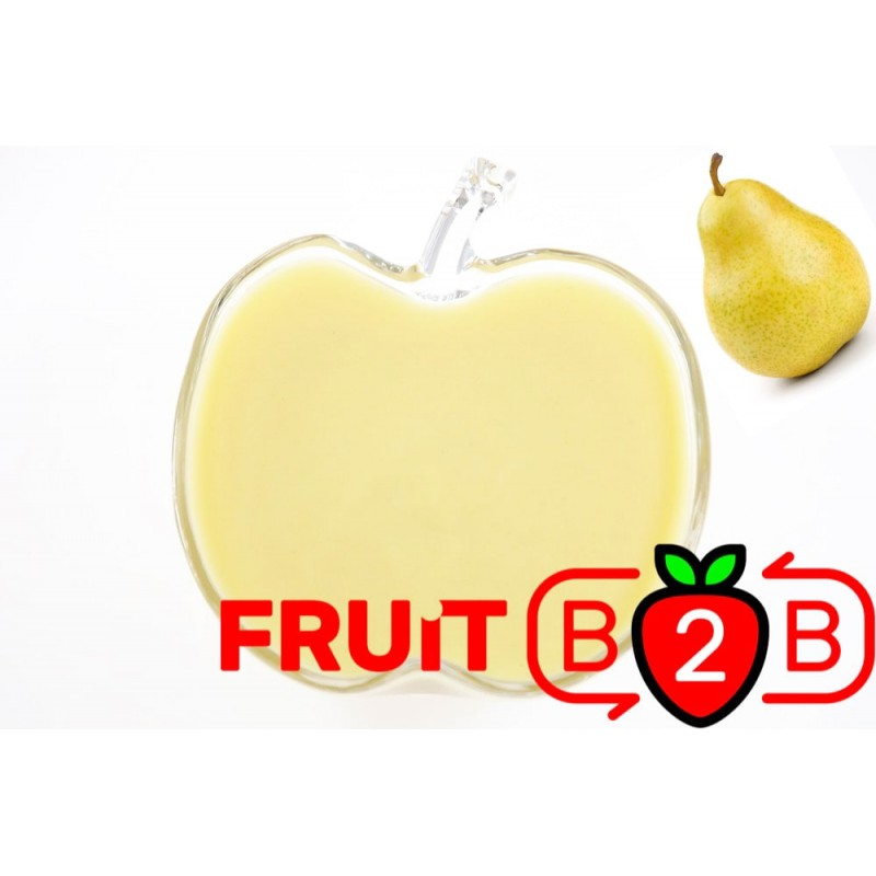 Pear Puree - Aseptic Puree Fruit & Manufacturer & Supplier - Fruit B2B