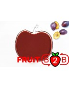 李子 果泥 - 果泥果粒 & 烘焙原料批发  果果粒水果泥 & 德鲁颗粒果酱烘焙饮品水果泥果粒原料批发 - Fruit B2B