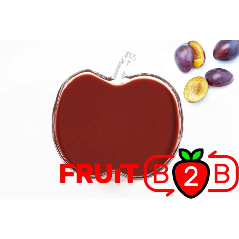 Puré de Ciruelo - Puré de Fruta Aseptico & Fruta & Fabricante & Distribuidor - Fruit B2B