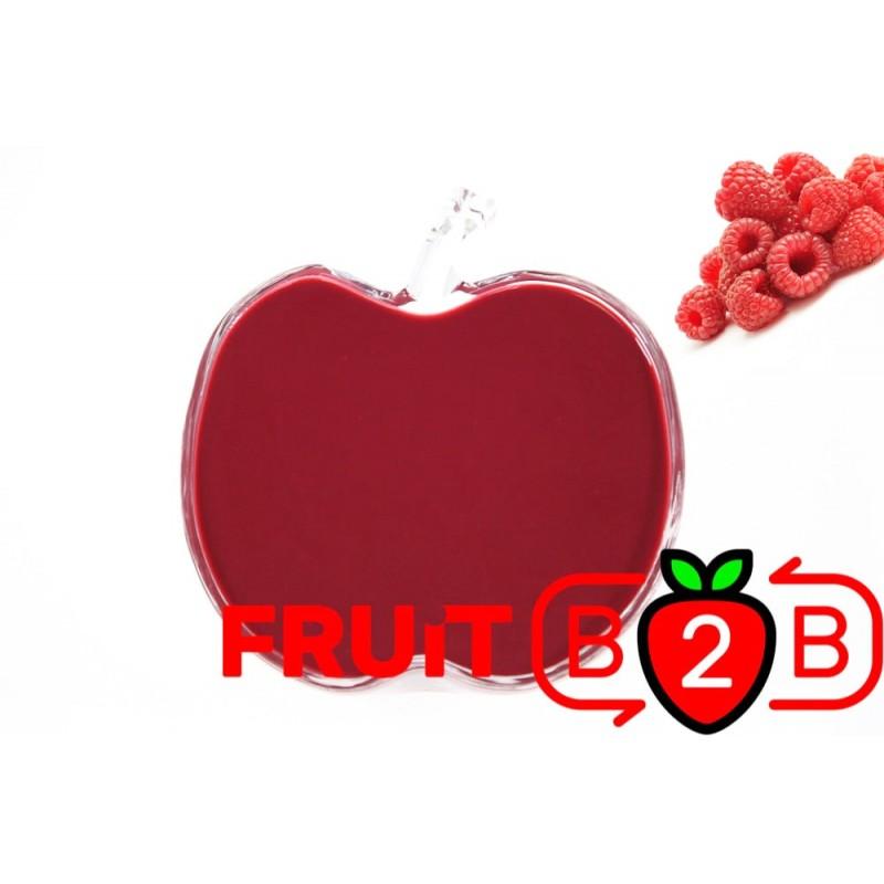 Ahududu Püresi - Aseptik Meyve Püresi & Püre & Fabrikatör & Aseptic Meyve Varil Püre - Fruit B2B Meyve Suyu ve Gıda San
