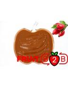 ローズヒップ ピューレ- 無菌ピューレフルーツピューレ & フルーツ& ピュレフルーツ & フルーツピューレ& ジャムやソースの加工に最適!フルーツピューレ- Fruit B2B