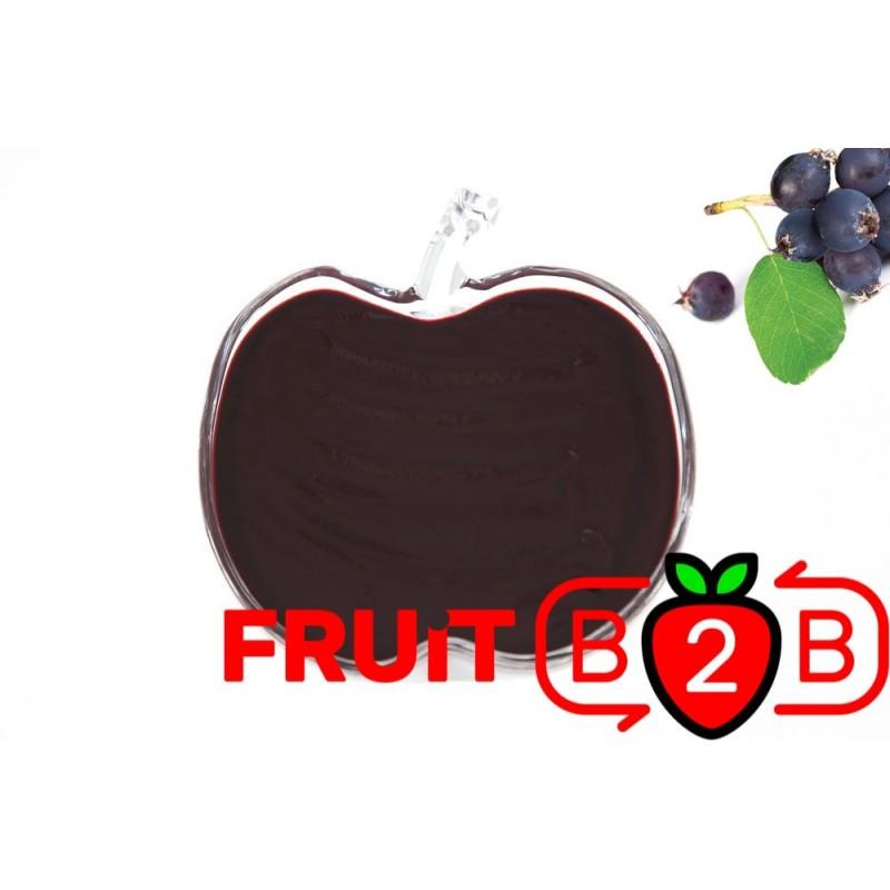 Purée de Shadbush - Purée Aseptique Fruits & Purées de fruits et de légumes pour l'industrie agro-alimentaire - Fruit B2B