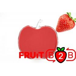 草莓 果泥 - 果泥果粒 & 烘焙原料批发  果果粒水果泥 & 德鲁颗粒果酱烘焙饮品水果泥果粒原料批发 - Fruit B2B