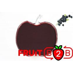 野生蓝莓 果泥 - 果泥果粒 & 烘焙原料批发  果果粒水果泥 & 德鲁颗粒果酱烘焙饮品水果泥果粒原料批发 - Fruit B2B